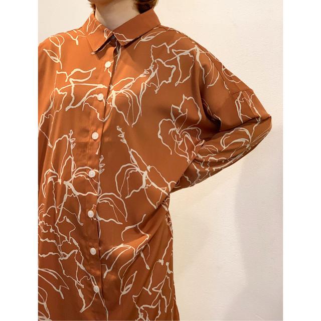 MANIC MONDAY・コンテンポラリーシャツドレス(0W63017H)