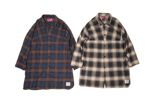 EFFECTEN(エフェクテン)doublebreast woolshaggycoat