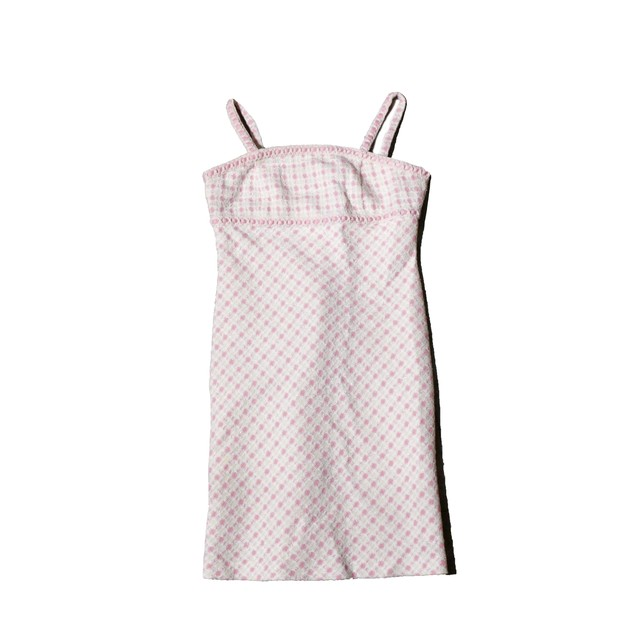 Courreges PinkGlitterCheckOnePiece