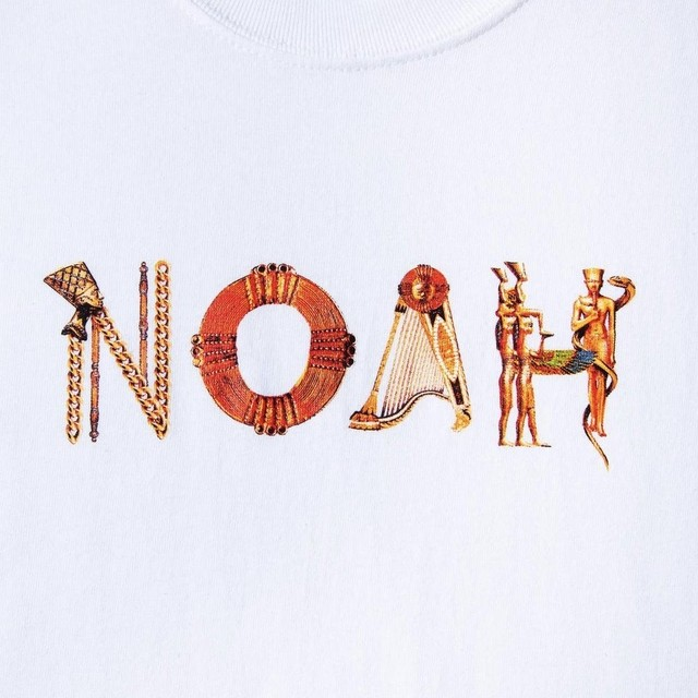 Noah x Earth, Wind & Fire Fantasy Logo Tee(White)