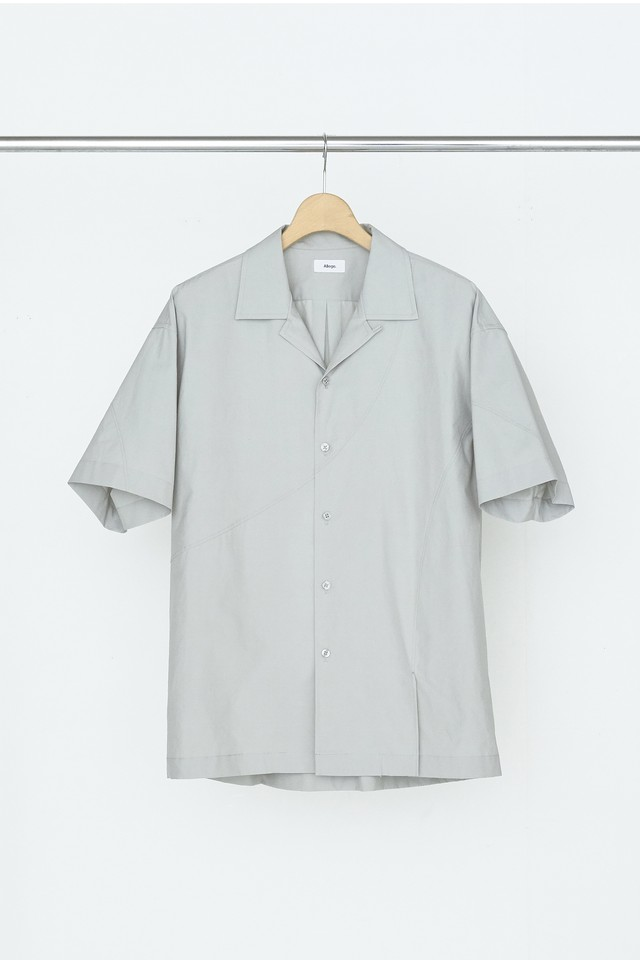 Allege Open Collar Switch Shirt Grey AL20S-SH06