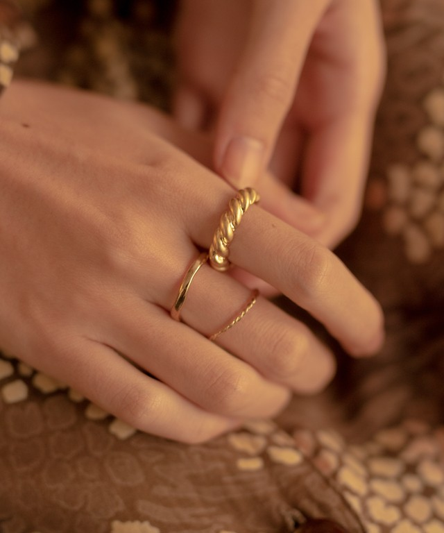 Rope Ring 3set