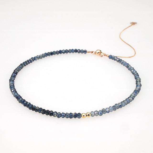 Stone bracelet / Sapphire