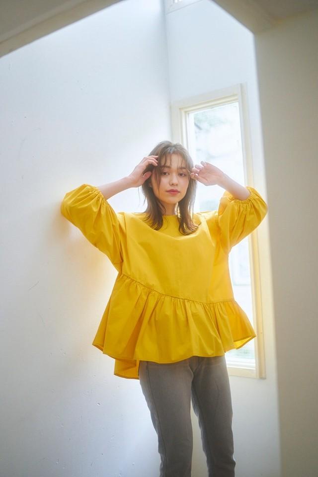 (STORY掲載)asymmetry puff blouse