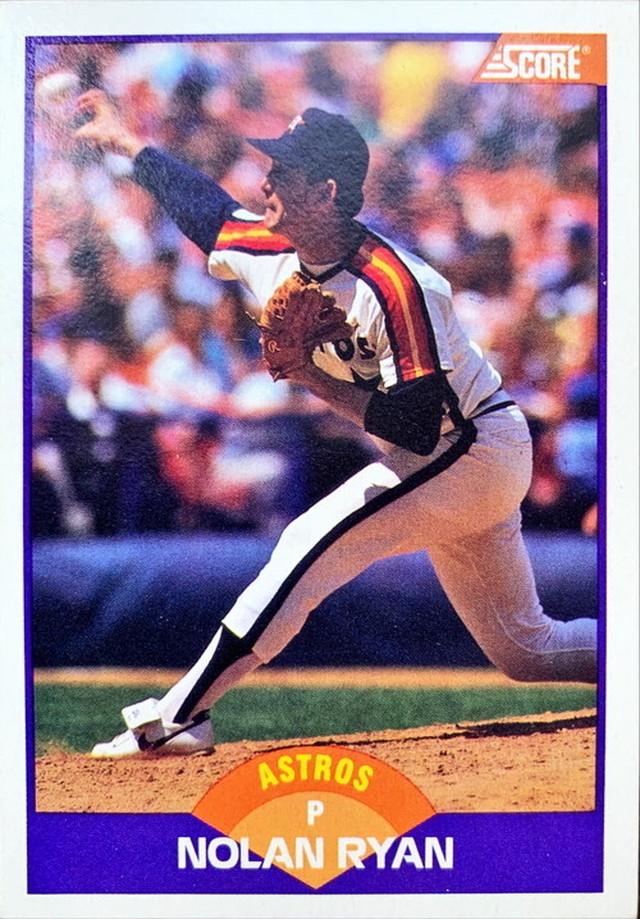 MLBカード 89SCORE Nolan Ryan  #300 ASTROS