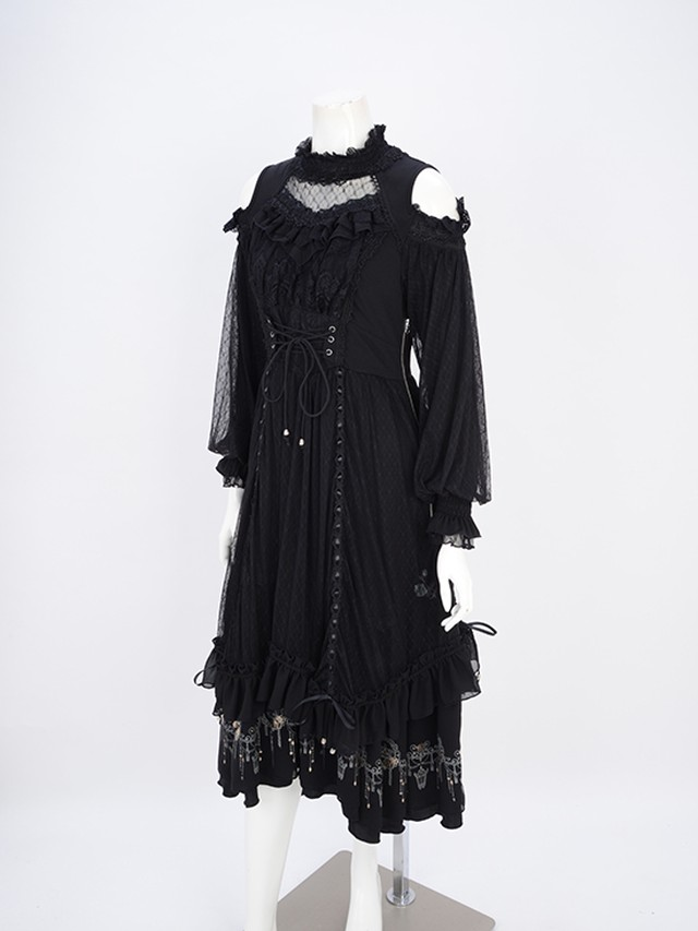Airy lace レイヤードOP  3211506a