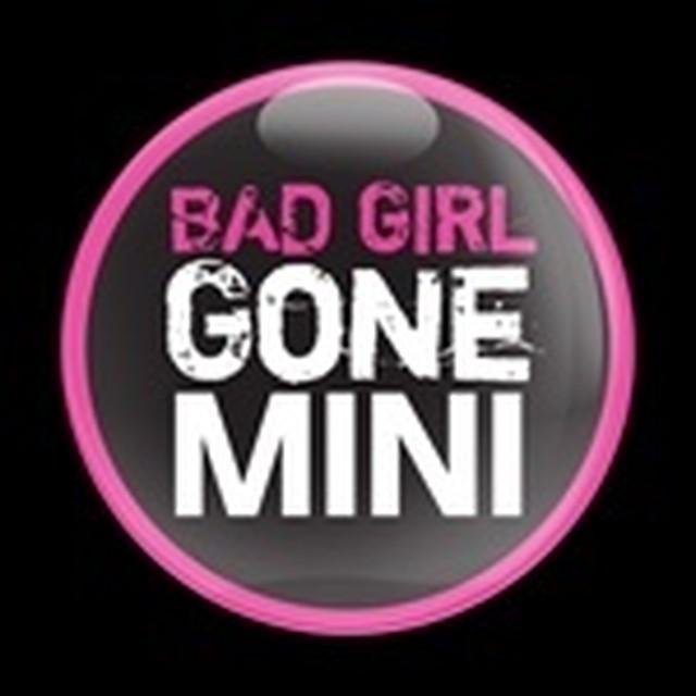 ドームバッジ(CD0352 - MINI BAD GIRL) - メイン画像