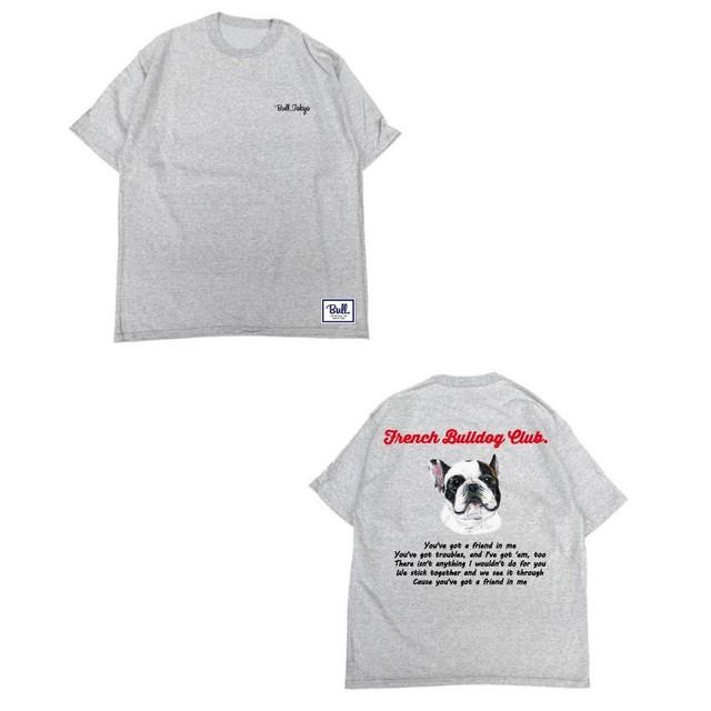 【9/16~9/20】限定受注生産 Bull.Tokyo オリジナル Tシャツ French Bulldog Club パイド