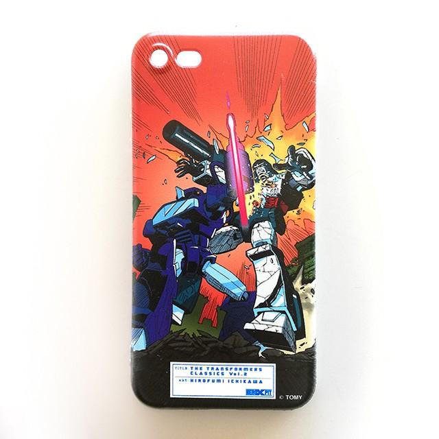 【特製ステッカー付】【予約注文商品】HERO-X PIT「トランスフォーマー  クラシックス VOL.2」ソフトiPhoneケース