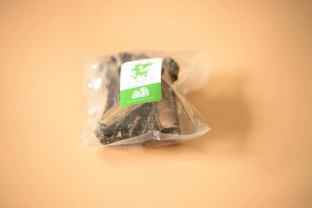 ベニソンドライ骨アバラ 100グラム(冷凍品)