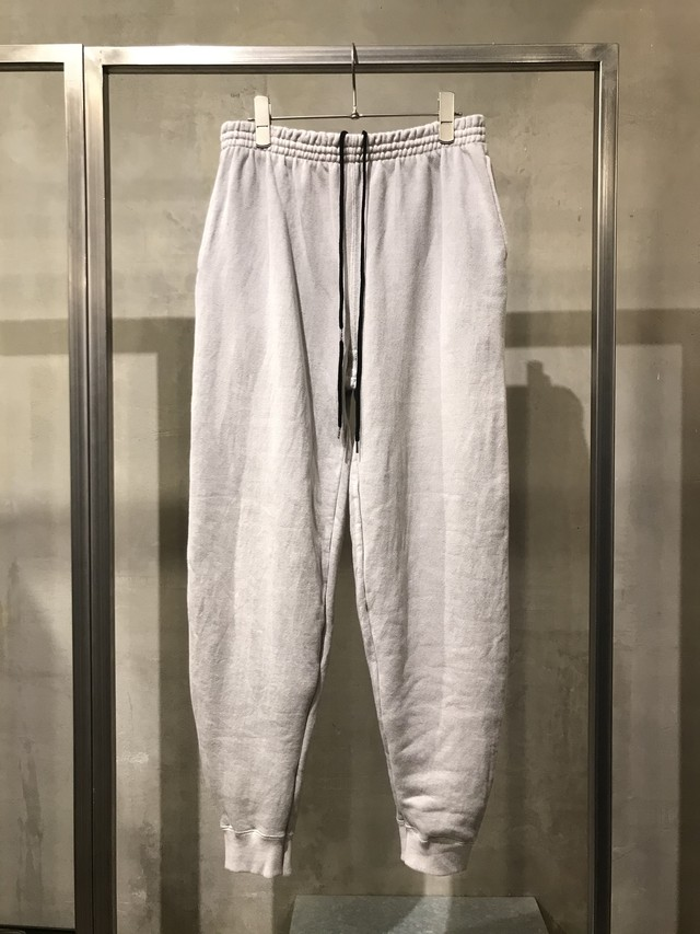 TrAnsference tapered sweat track pants - past white