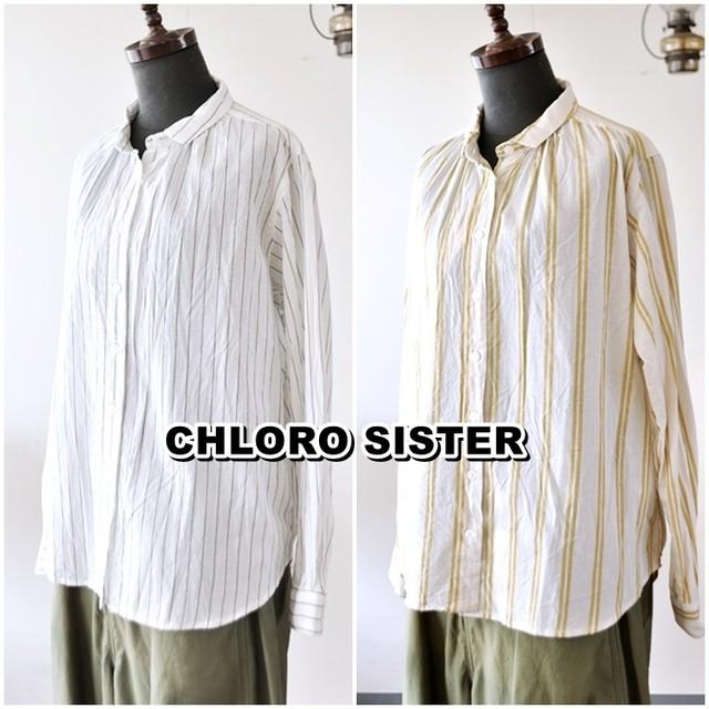 【セール】CHLOROSISTER クロロシスター シャツブラウス CS1072 レディース 女性 バーゲン セール 40%OFF