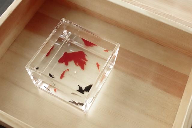 SEASON 1合升 金魚 KINGYO/208 32SP20‐28  *丸モ高木陶器* お酒をより楽しむためのおしゃれな酒器!
