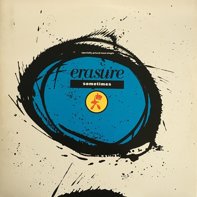 【12inch・米盤】Erasure / Sometimes(Extended Mix)