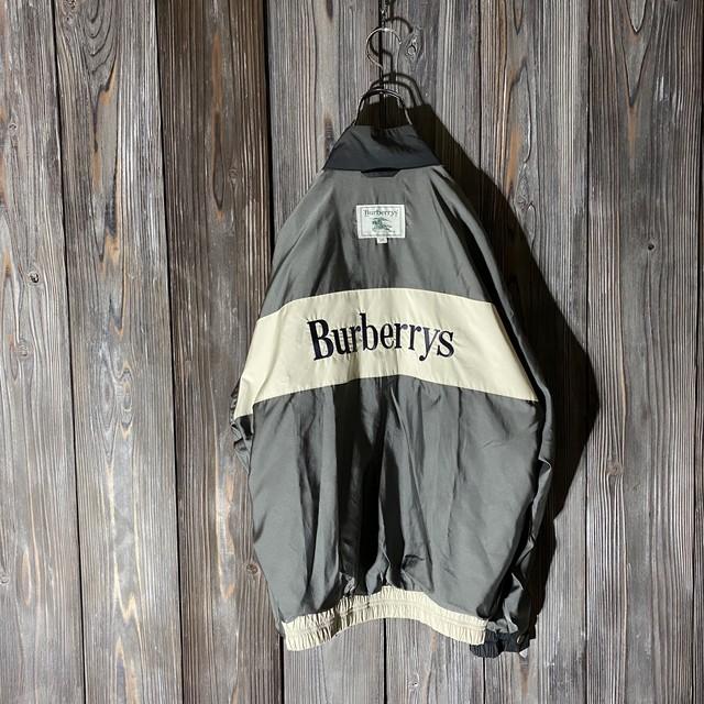 [Burberry]half switching rare design jacket