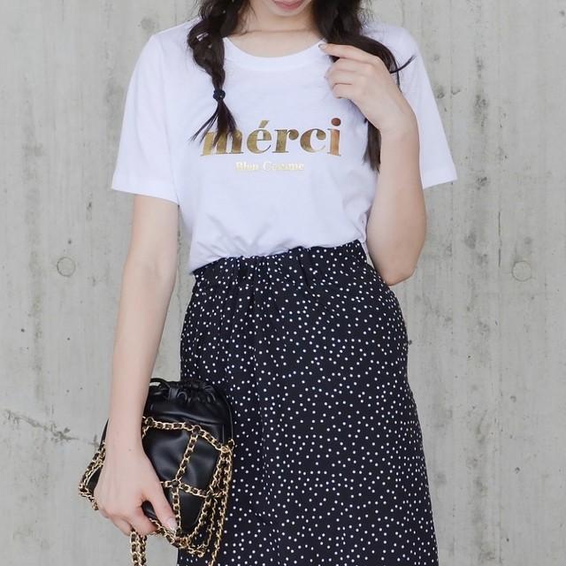 merci Tシャツ/WH