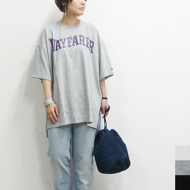 kha:ki カーキ リメイクBIG Tシャツ レディース Tシャツ ビッグ ゆったり ロング丈 リメイク 通販 (品番mil-19hcs158c)