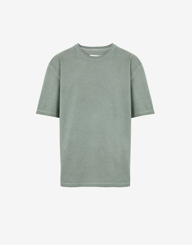 Maison Margiela oversize shirt military green