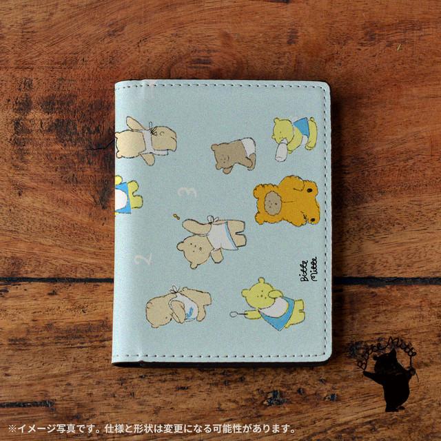 パスケース かわいい カードケース かわいい 名刺入れ かわいい おしゃれ 革 知育 グッズ クマの赤ちゃんたち/Bitte Mitte!