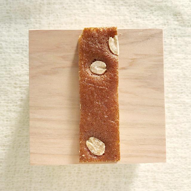 ピーナッツ|京菓子・林さんの松風