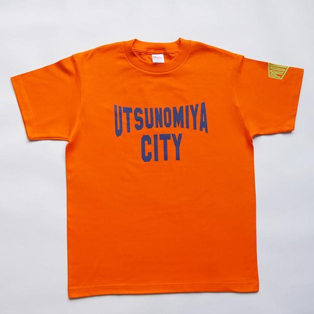 UTSUNOMIYA CITY Tシャツ オレンジ