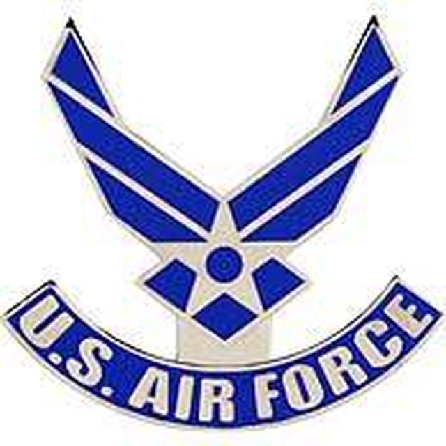 引続きセール主力商品20%OFF!  【ミリタリー】U.S.Air Force ロゴ ピンバッジ