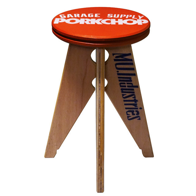 PORK STOOL Small / RED