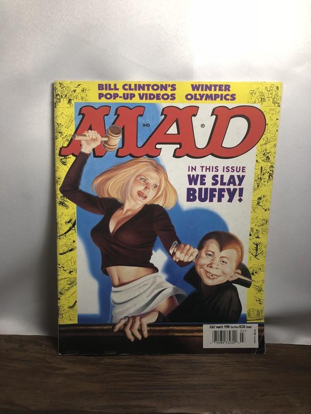 アメコミ【MAD MAGAZINE】90s マッドマガジン 雑誌 AC073