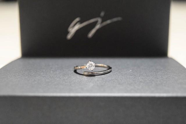 ジルコニア ring【フリーサイズ】czr11-a