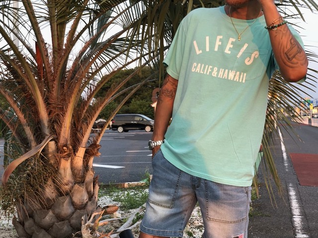 8/11(土)21時発売!LIFEIS CALIF&HAWAII ¥3500+tax