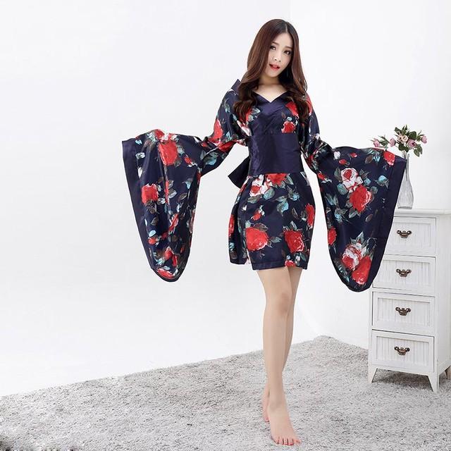 【即日出荷】3色 振袖 着物ドレス  コスプレ衣装 【3005】