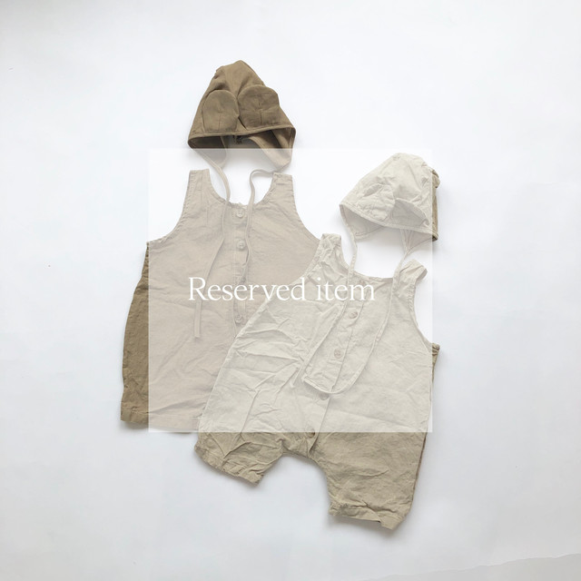 《 Reserved item 181 》Bebe overall