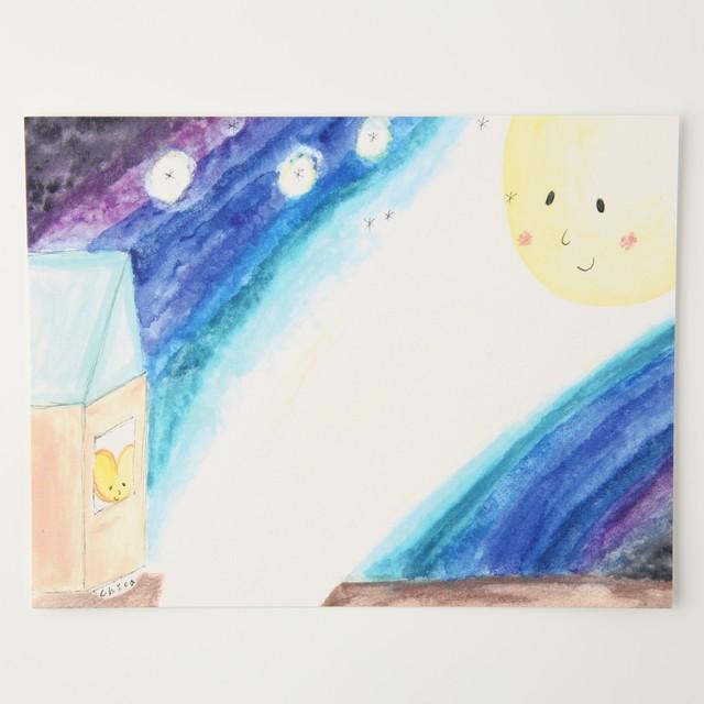 mother moon ポストカード