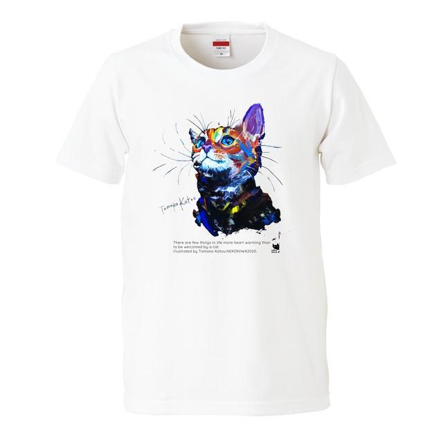 猫庭Tシャツ +TOMOKO KATOU model ■ Espoir エスポア 全国送料無料‼