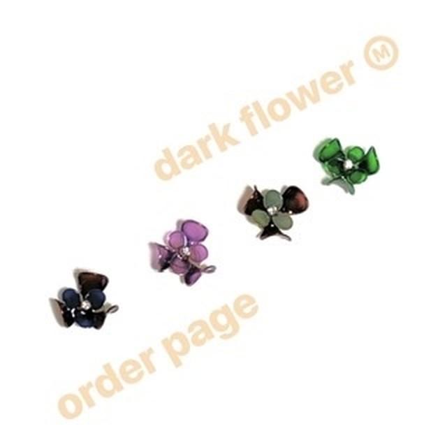 今だけ!color orderリクエスト・dark flower M