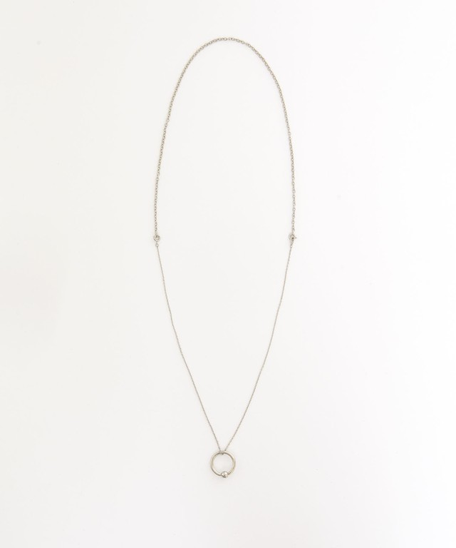 Dressedundressed Exclusive Piercing Ring Necklace