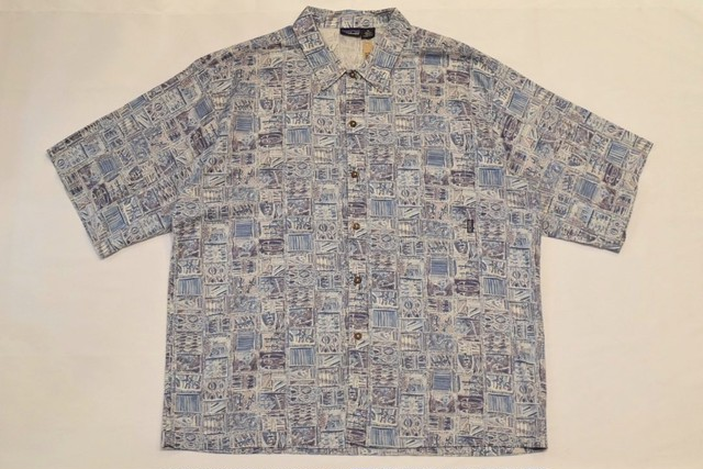 USED 00s patagonia A/C shirt -Xlarge 01058