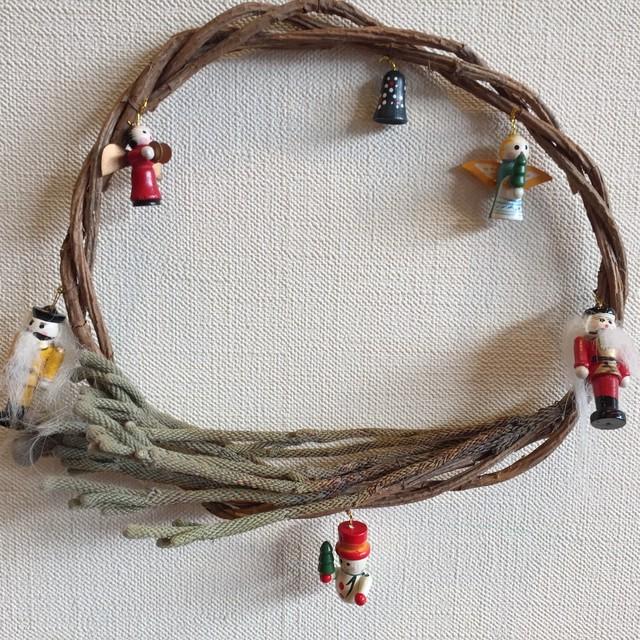 クリスマスリース くるみ割り人形