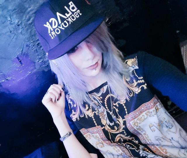 「INAZUMA」CAP  BLACKライン