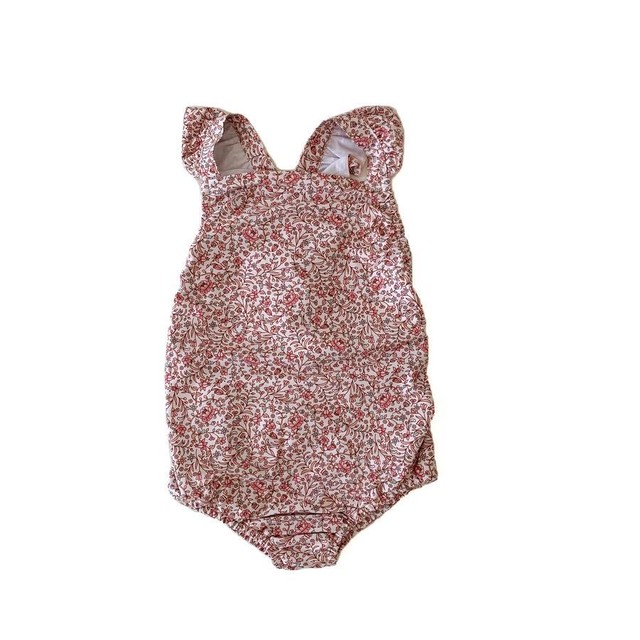 Ruffets and Co / Lottie Swimsuit Disty Floral