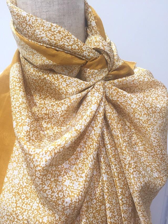 saris-061 シルクサリー スクエアショール