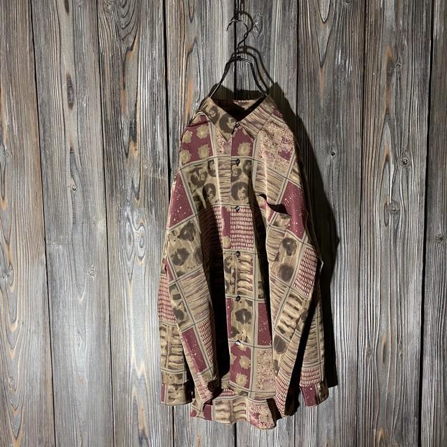 [used]antique atmos shirt