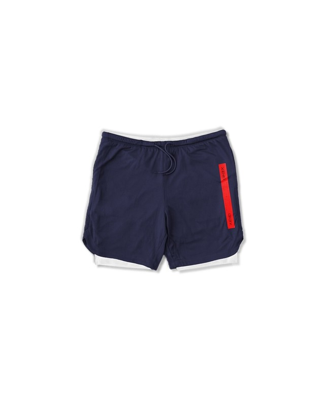 XENO CITY TOUGH LAYERED SHORTS Navy