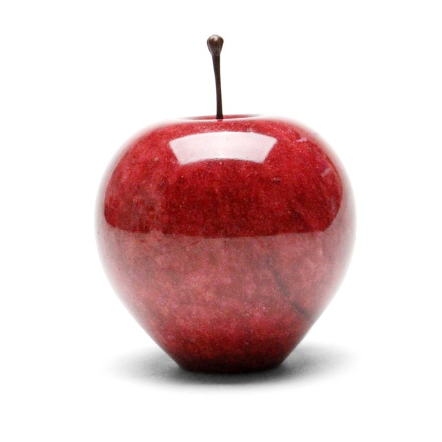 MARBLE APPLE LARGE RED