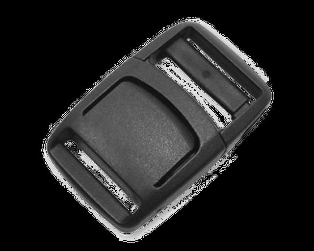 新商品 Nifco ニフコ フロントリリースバックル FRL20 黒 1個