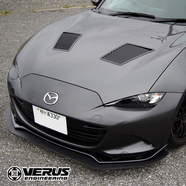 VERUS ENGINEERING(VELOX):A0168A:MAZDA ROADSTER(ND5RC):サイドスプリッター