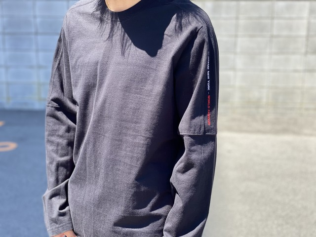 Supreme PANELED L/S TOP SMALL BLACK 30IK1936