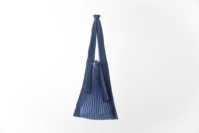 PLECO TATE-PLEATS : L (NAVY) / kna plus