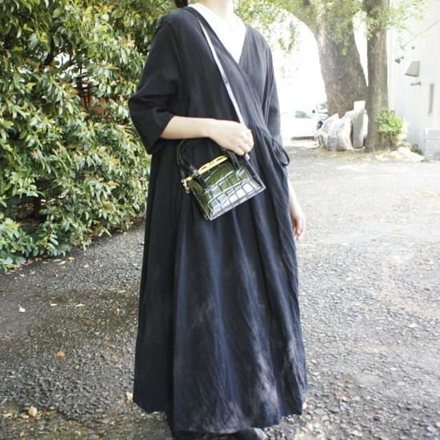 Vintage Bag レザーハンドバッグ シャーロット