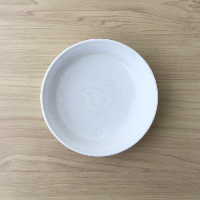 【有田焼】イズニックホワイト 丸小皿